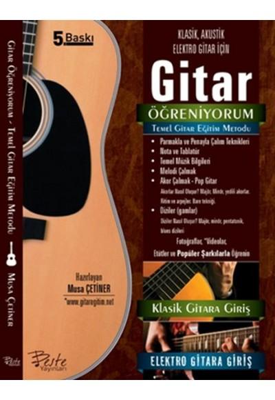 Gitar Öğreniyorum Temel Gitar