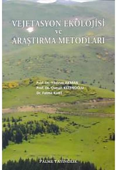 Vejetasyon Ekolojisi ve Araştırma Metodları