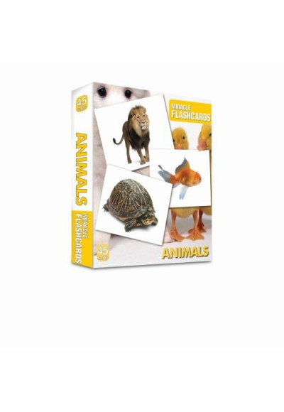 Miracle Flashcards Animals 45 Cards