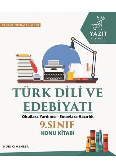 Yazıt 9. Sınıf Türk Dili ve Edebiyatı Konu Kitabı
