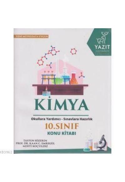 Yazıt 10. Sınıf Kimya Konu Kitabı