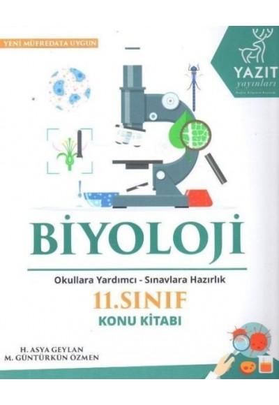 Yazıt 11. Sınıf Biyoloji Konu Kitabı