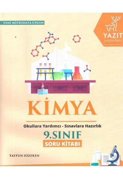 Yazıt 9.Sınıf Kimya Soru Bankası