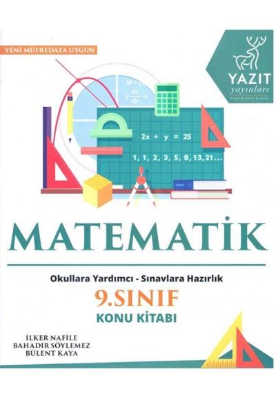 Yazıt 9. Sınıf Matematik Konu Kitabı
