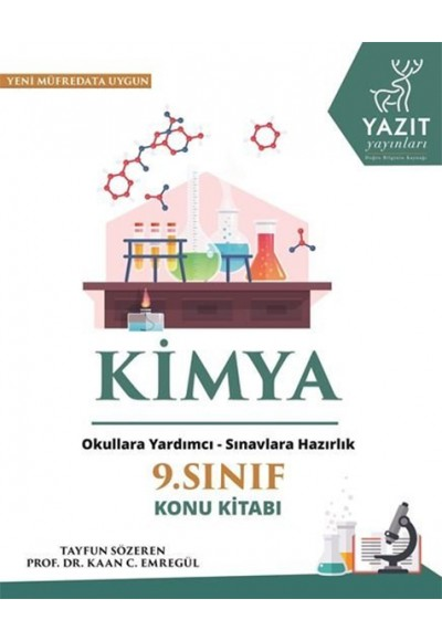 Yazıt 9.Sınıf Kimya Konu Kitabı