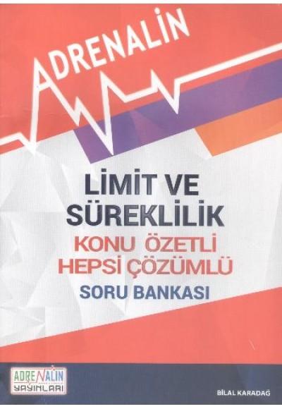 Adrenalin Limit ve Süreklilik Konu Özetli Hepsi Çözümlü Soru Bankası