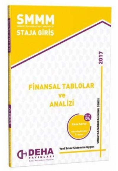 SMMM Staja Giriş Finansal Tablolar ve Analizi Konu Serisi STJ K 04