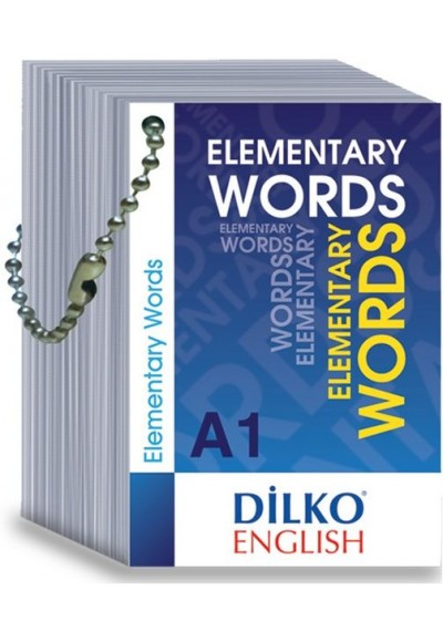 Dilko A1 Elementary Words Kelime Kartı