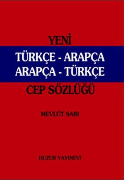 Yeni Türkçe Arapça Arapça Türkçe Cep Sözlüğü 046