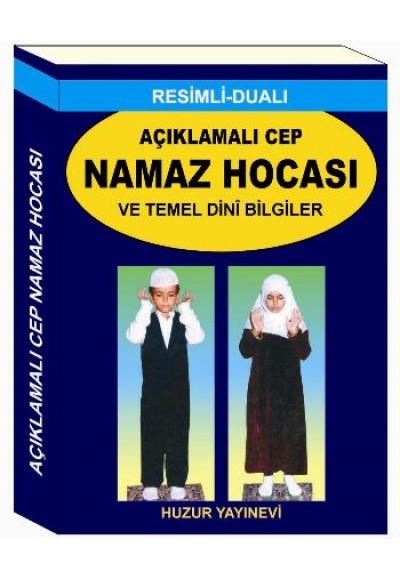 Açıklamalı Cep Namaz Hocası ve Temel Dini Bilgiler Kod 057