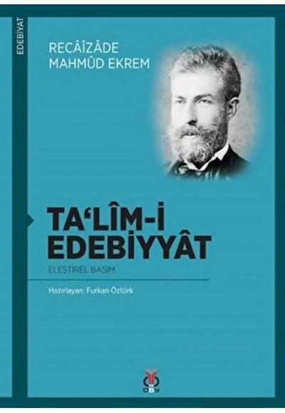 Ta'lim-i Edebiyat (Eleştirel Basım)