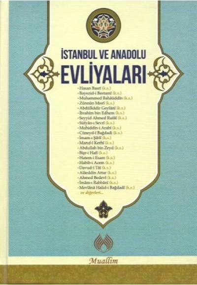 İstanbul ve Anadolu Evliyaları Ciltli
