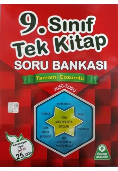 Örnek Akademi 9. Sınıf Tek Kitap Tamamı Çözümlü Soru Bankası KAMP. 25TL
