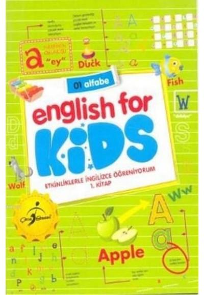 Etkinliklerle İngilizce Öğreniyorum 5 Kitap English For Kids