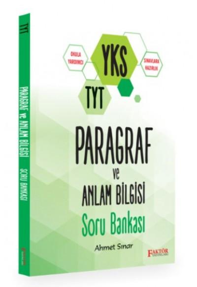 Faktör YKS TYT Paragraf ve Anlam Bilgisi Soru Bankası