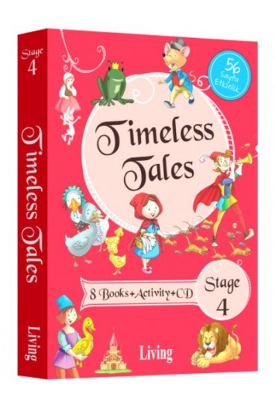 Timeless Tales Stage 4 8 Books Activity Cd