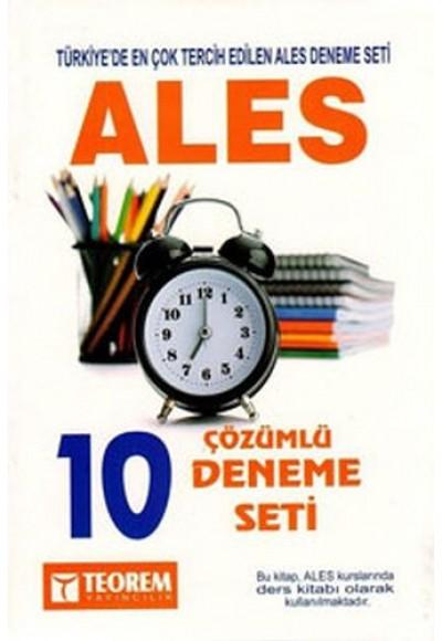 Teorem ALES 10 Çözümlü Deneme Seti