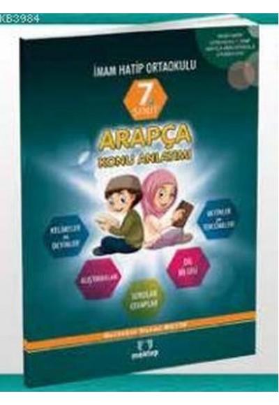 7. Sınıf Arapça Konu Anlatımı