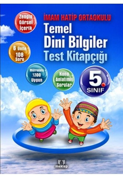 5. Sınıf Temel Dini Bilgiler Test Kitapçığı