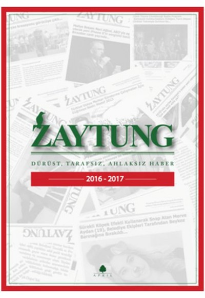 Zaytung Almanak 2016 2017