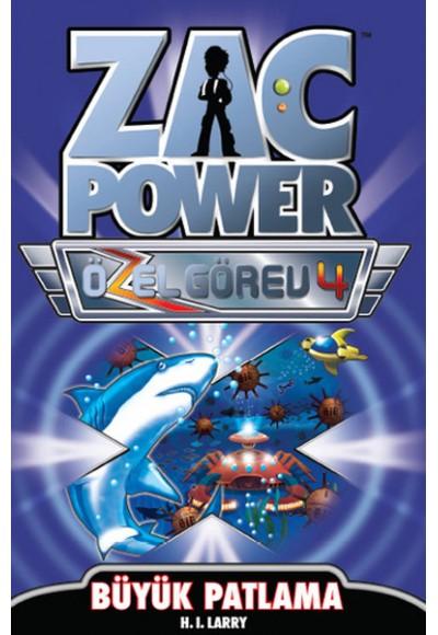 Zac Power Özel Görev 4 Büyük Patlama