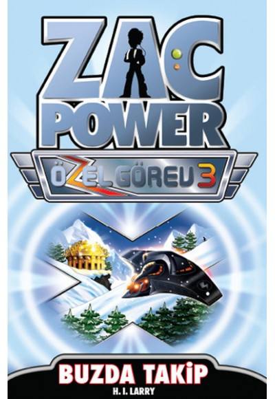 Zac Power Özel Görev 3 Buzda Takip
