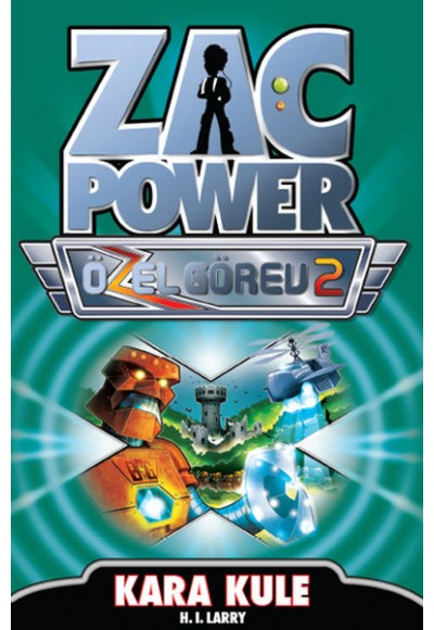 Zac Power Özel Görev 2 Kara Kule