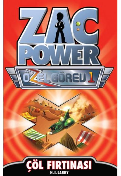 Zac Power Özel Görev 1 Çöl Fırtınası