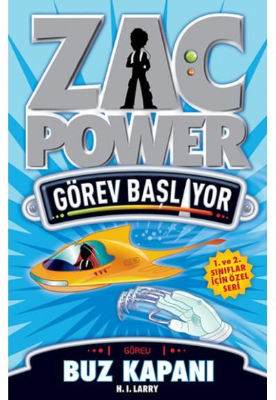 Zac Power Görev Başlıyor D Buz Kapanı