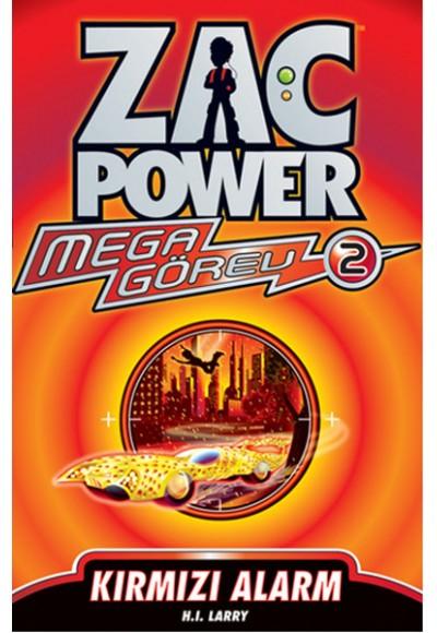 Zac Power Mega Görev 02 Kırmızı Alarm