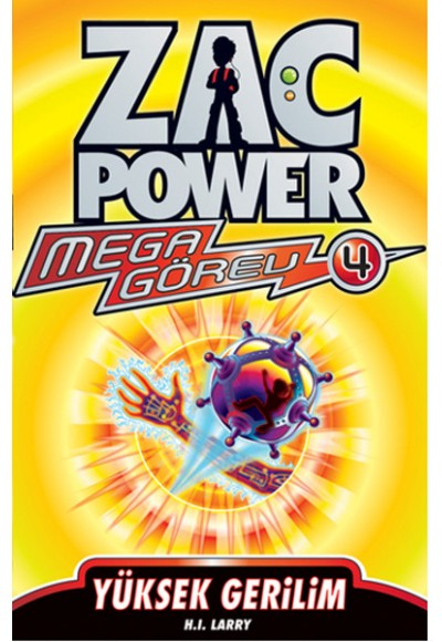 Zac Power Mega Görev 04 Yüksek Gerilim