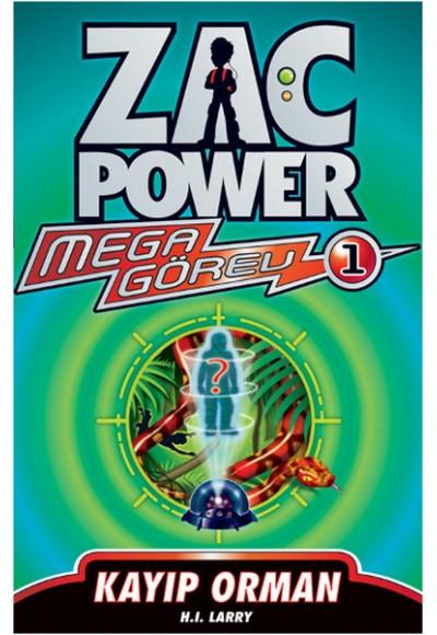 Zac Power Mega Görev 01 Kayıp Orman