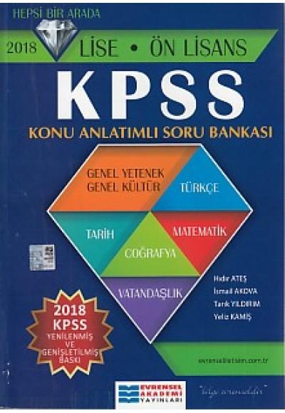 Evrensel KPSS 2020 Lise Önlisans Konu Anlatımlı Soru Bankası Yeni