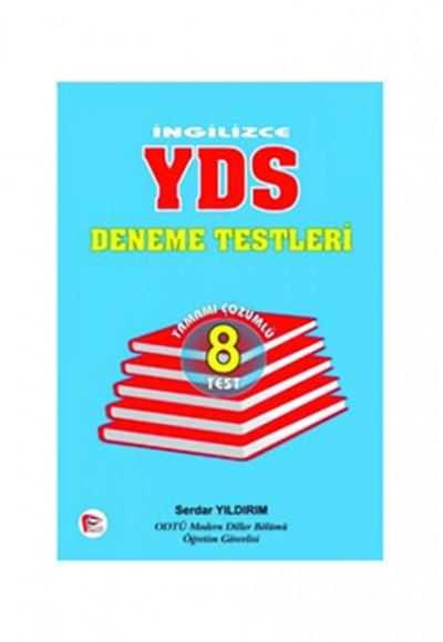 Pelikan İngilizce YDS 8 Test Tamamı Çözümlü