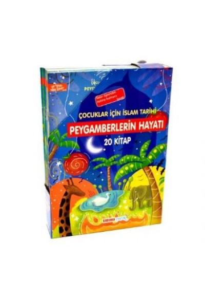 Çocuklar İçin İslam Tarihi Peygamberlerin Hayatı 20 Kitap Kutulu
