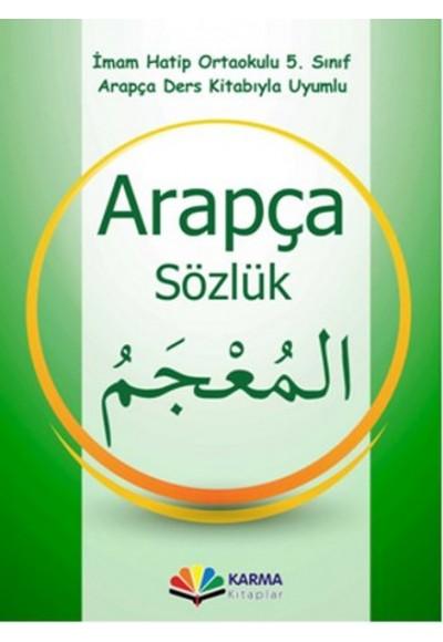İmam Hatip Ortaokulu 5.Sınıf Arapça Sözlük