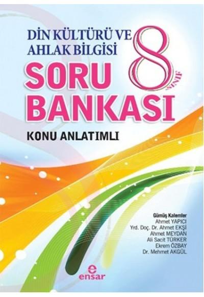 8. Sınıf Din Kültürü ve Ahlak Bilgisi Soru Bankası Konu Anlatımlı
