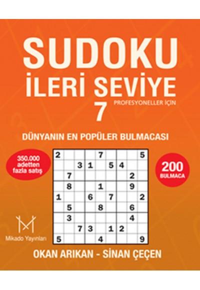Sudoku İleri Seviye 7  Profesyoneller İçin