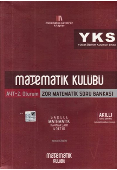 Matematik Kulübü AYT Zor Matematik Soru Bankası Yeni