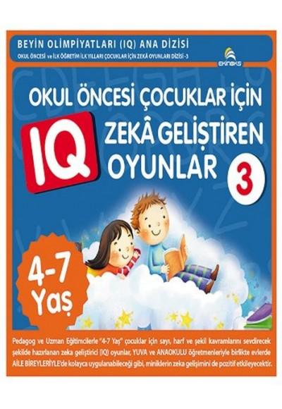 Okul Öncesi Çocuklar İçin Zeka Geliştiren Oyunlar 3 (4-7 Yaş)