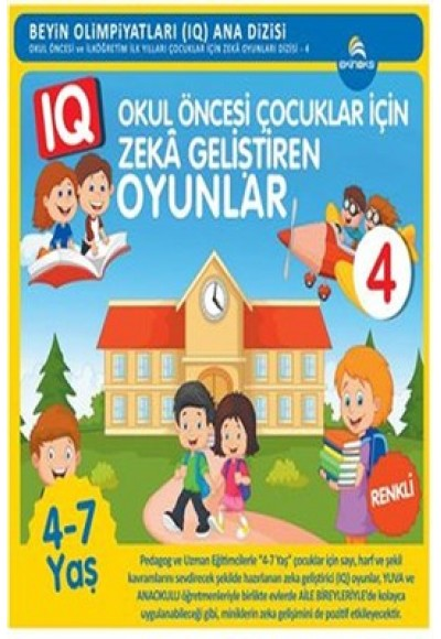 Okul Öncesi Çocuklar İçin Zeka Geliştiren Oyunlar 4 (4-7 Yaş)