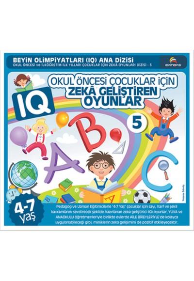 Okul Öncesi Çocuklar İçin IQ Zeka Geliştiren Oyunlar 5 4 7 Yaş