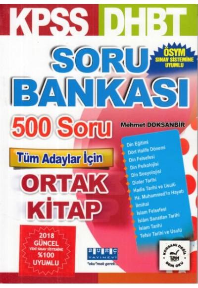 Burç DHBT KPSS Soru Bankası Yeni