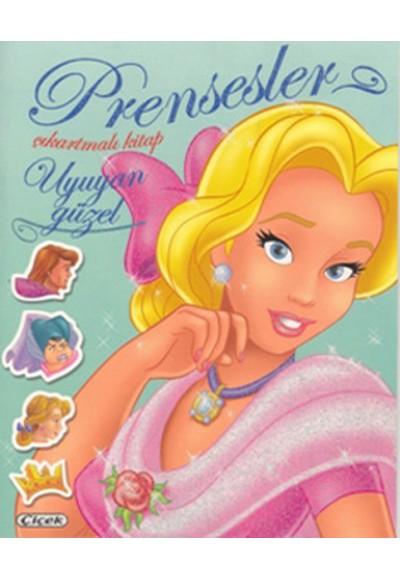 Uyuyan Güzel Prensesler Çıkartmalı Kitap