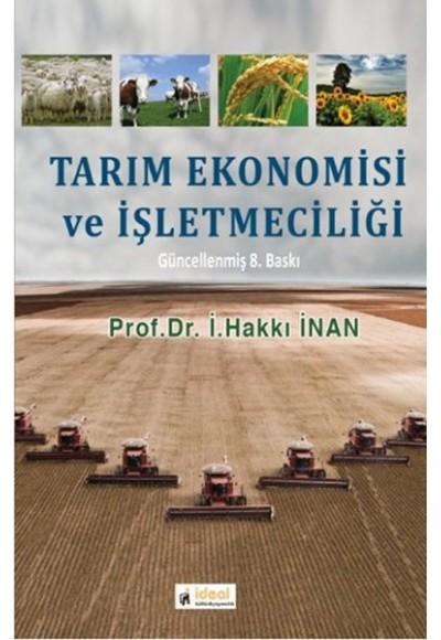 Tarım Ekonomisi ve İşletmeciliği
