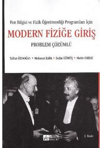Modern Fiziğe Giriş Problem Çözümlü