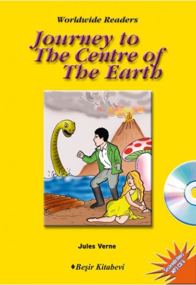 Journey to The Center of The Earth Level 6 CD'li