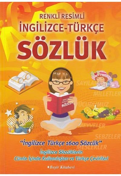 Renkli Resimli İngilizce Türkçe Sözlük