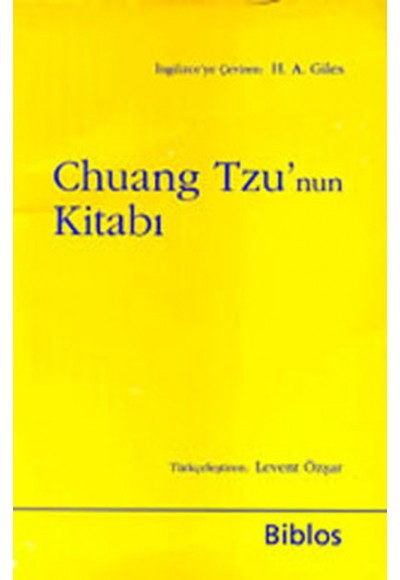 Chuang Tzu'nun Kitabı (cep boy)