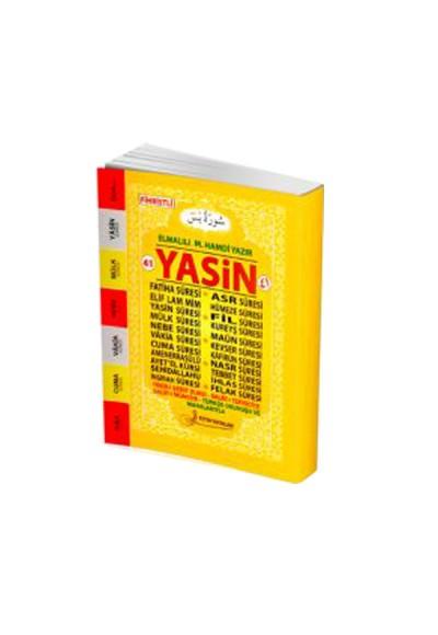 41 Yasin Türkçe Okunuşu ve Manalarıyla Fihristli Cep Boy F019